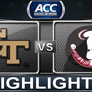 Georgia Tech vs Florida State | 2014 ACC Basketball Highlights