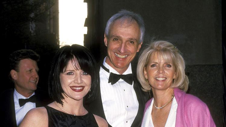 Tina Yothers, Michael Gross, and Meredith Baxter attend the NBC's 75th Anniversary Special on May 5, 2002 at Rockefeller Center in New York City, New York. Meredith Baxter