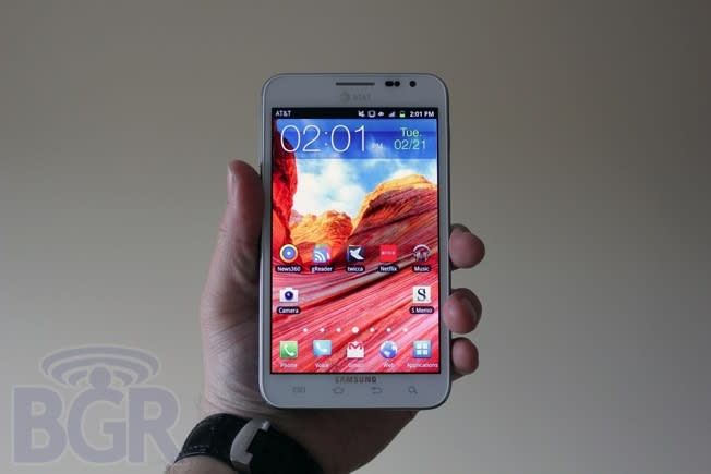 Samsung reaches goal of selling 10 million Galaxy Note smartphones