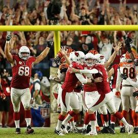 Cardinals use late field goal, beat Bengals 34-31