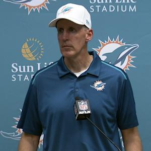 Miami Dolphins postgame press conference