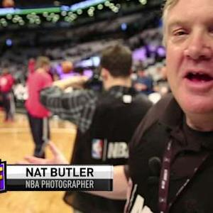 A Day in the Life of NBA Photographer Nat Butler