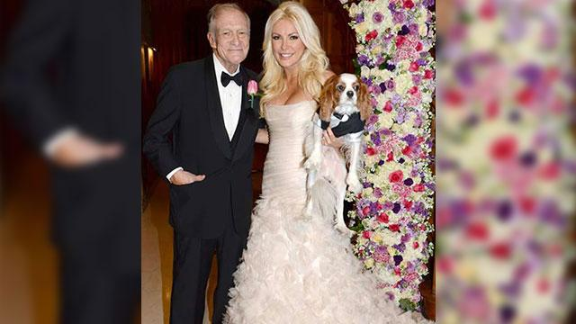 Hugh Hefner Ties the Knot!