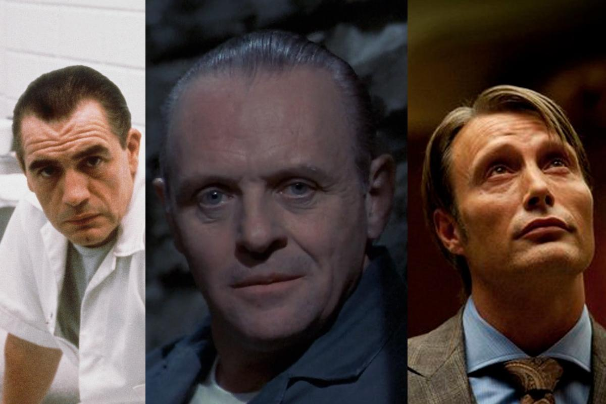 What happens when you put three different Hannibal Lecters in one scene?