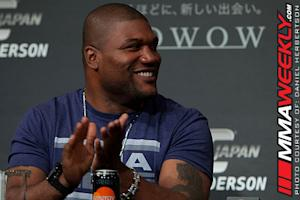 Quinton 'Rampage' Jackson Injured and Out of UFC 153 in Brazil