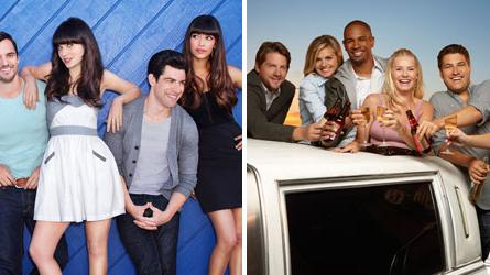 New Girl vs. Happy Endings