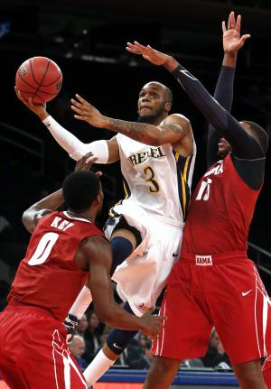 Drexel beats Alabama 85-83 in 3 OTs