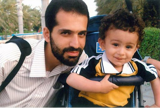 This undated photo released by Iranian Fars News Agency, claims to show Mostafa Ahmadi Roshan, who they say was killed in a bomb blast in Tehran, Iran, on Wednesday, Jan. 11, 2012, next to his son. Two assailants on a motorcycle attached a magnetic bomb to the car of an Iranian university professor working at a key nuclear facility, killing him and his driver Wednesday, reports said. The slayings suggest a widening covert effort to set back Iran's atomic program. The blast killed Mostafa Ahmadi Roshan, a chemistry expert and a director of the Natanz uranium enrichment facility in central Iran, state TV reported. (AP Photo/Fars News Agency)