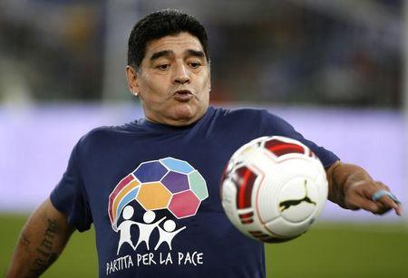 Maradona renews contract with Venezuela's Telesur network