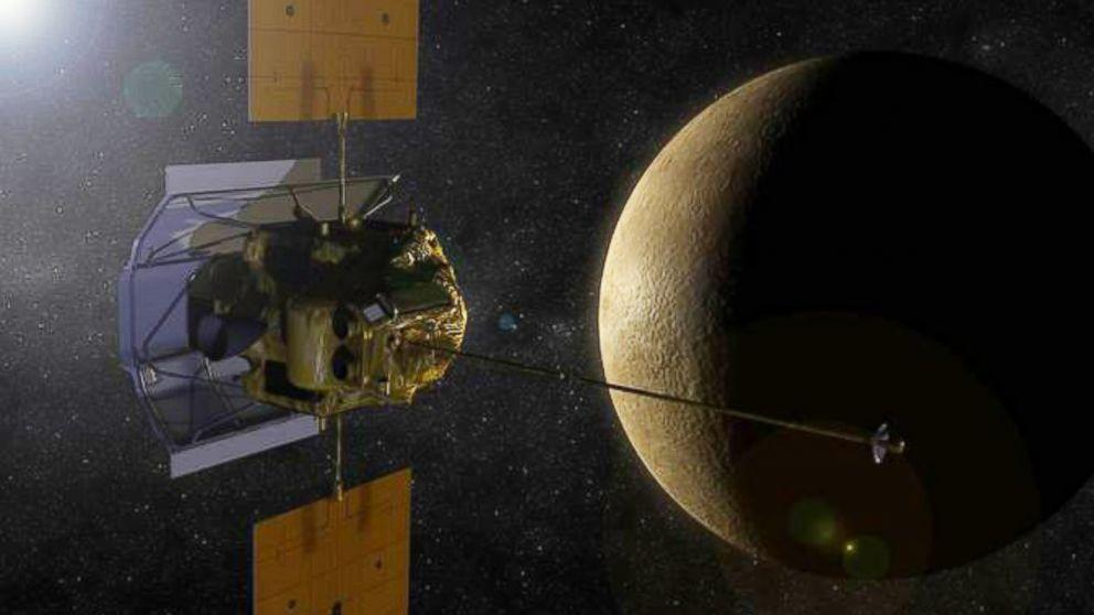 NASA's MESSENGER Probe Prepares For Collision With Mercury