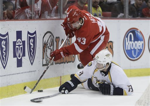 Datsyuk scores with 5 seconds left for Red Wings