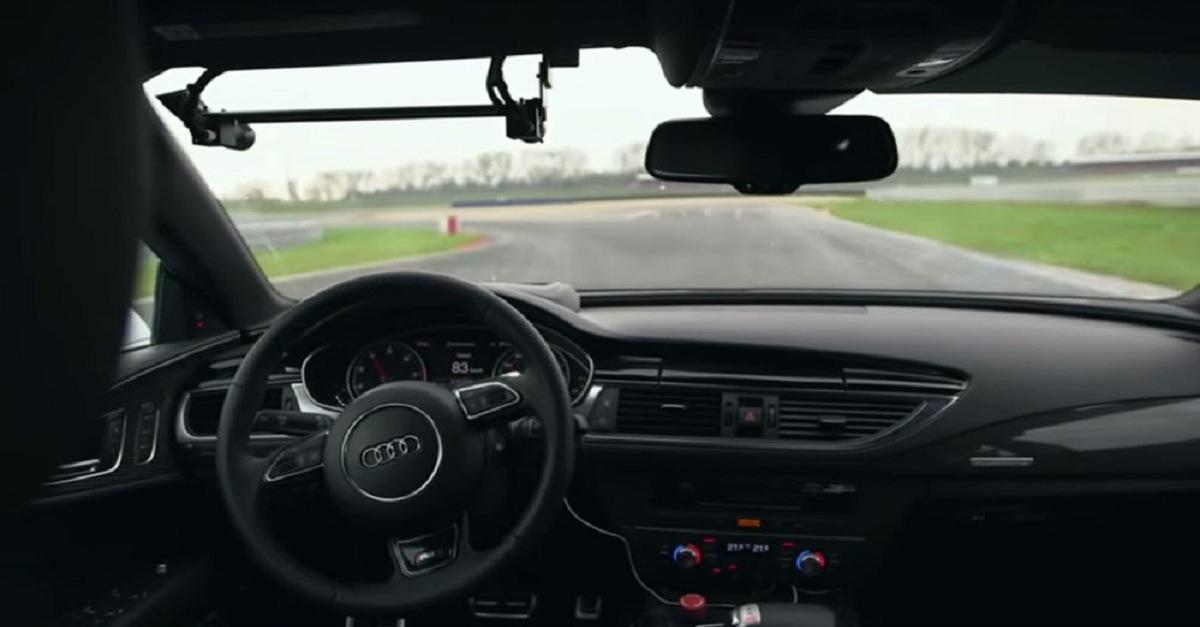 Ever Seen An Auto-Driving Car Go So Fast? (Watch)
