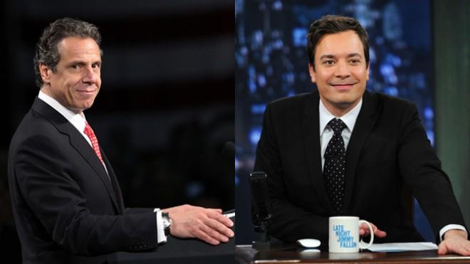 New York Gov. Andrew Cuomo must be a really big Fallon fan.
