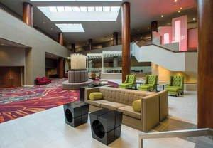 Hotel in Tulsa, Oklahoma Transforms Itself With New Lobby Space