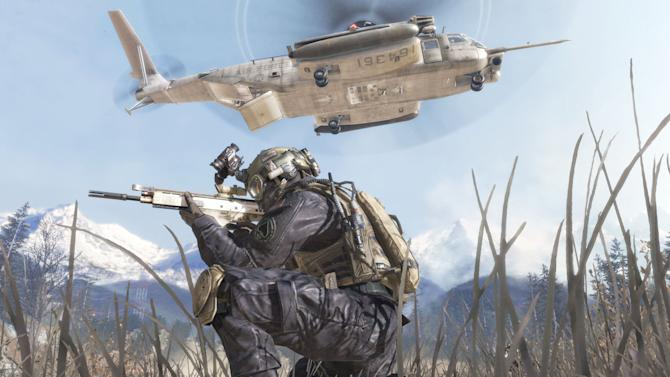 """FILE - In this undated video game image released by Activision, a scene from """"Modern Warfare 2"""" is shown. The makers of """"Call of Duty: Modern Warfare 2"""" and game publisher Activision Blizzard Inc. have agreed Thursday, May 31, 2012, to an undisclosed settlement for a lawsuit filed by Jason West and Vincent Zampella, the former heads of game studio, Infinity Ward, for wrongful dismissal and bonuses based on the game's profits. (AP Photo/Activision, File)"""