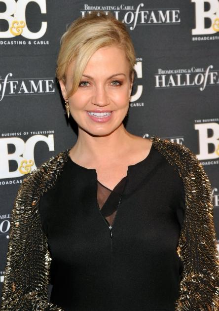 Michelle Beadle attends The 2012 Broadcasting & Cable Hall Of Fame Awards at The Waldorf-Astoria on December 17, 2012 in New York City -- Getty Images