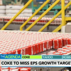 Coca Cola to Miss EPS Growth Target