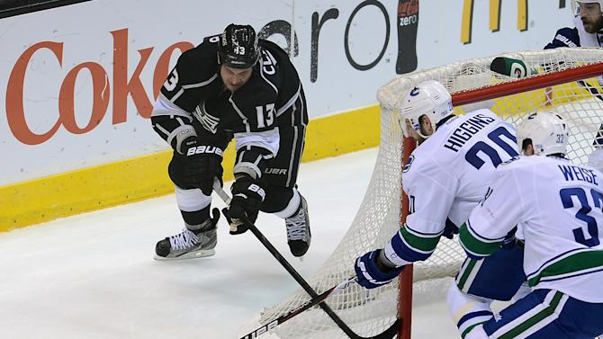 NHL: Vancouver Canucks at Los Angeles Kings