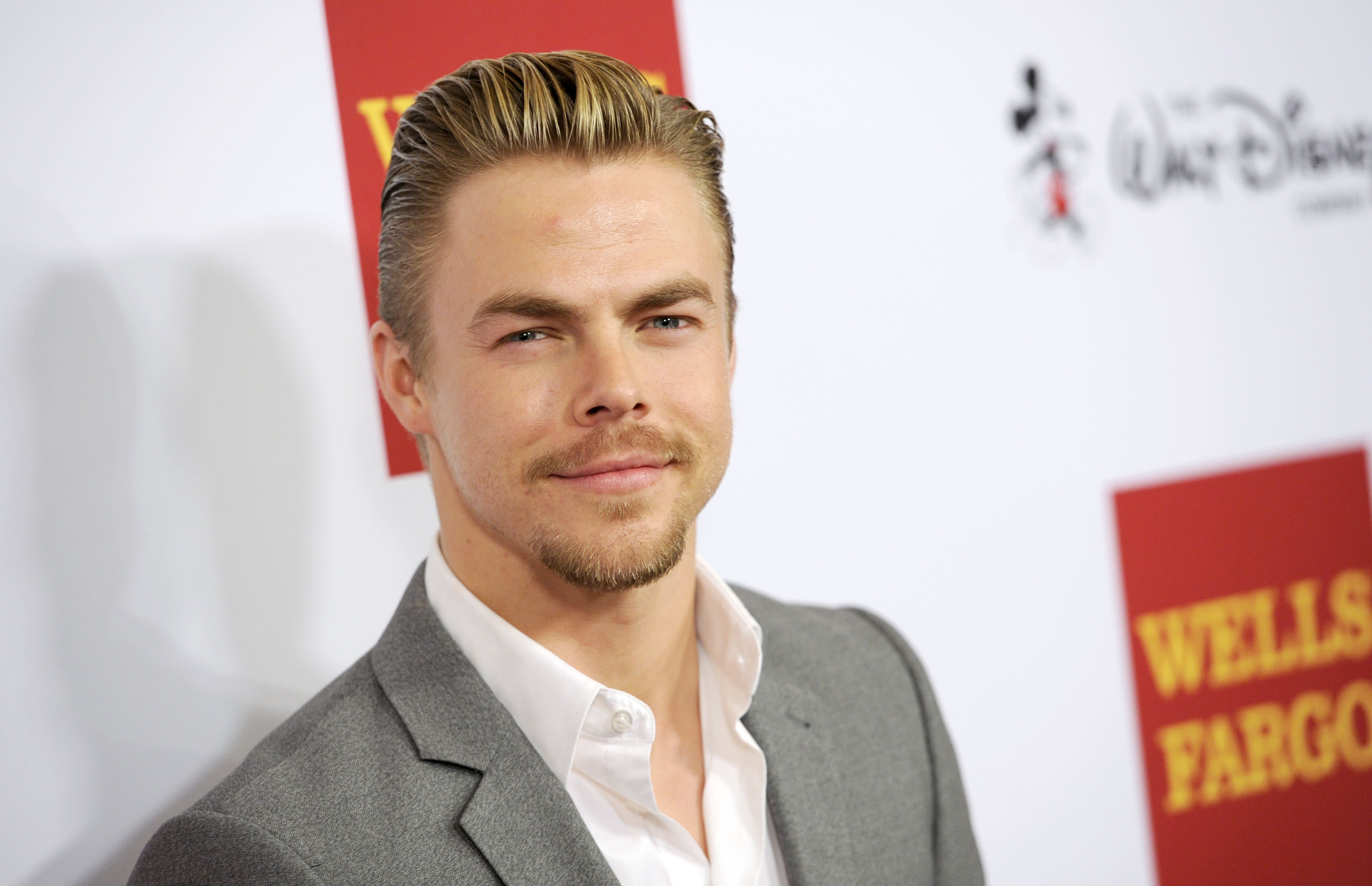 Derek Hough says he's being careful after 'Dancing' injuries