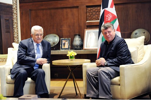 Palestinian President Abbas Meets With King Abdullah II, King of Jordan