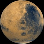 Parts of Mars Interior as Wet as Earth's
