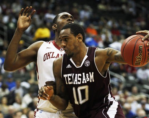 Texas A&M beats Oklahoma 62-53