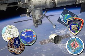 SpaceX Launching Student Experiments and Emblems on 1st Space Station Flight