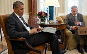 Did Obama's iPad Just Get Hacked?
