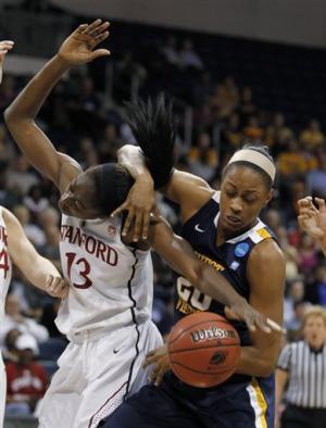 Orrange leads Stanford women past West Virginia