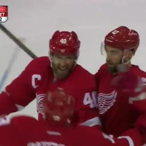 Henrik Zetterberg Goal on Michal Neuvirth (04:19/3rd)