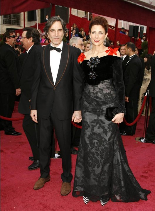 Oscars 2008 Daniel Day Lewis Rebecca Miller