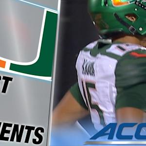 True Freshman Miami QB Brad Kaaya Throws 1st Career TD Pass | ACC Must See Moment