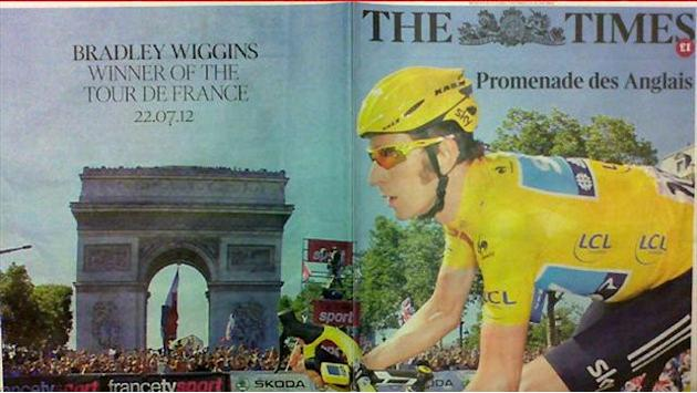Papers delight in Wiggins victory