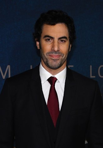 Sacha Baron Cohen attends the &#39;Les Miserables&#39; New York premiere at Ziegfeld Theatre on December 10, 2012 -- Getty Images