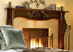 Decorative Fireplace Mantels Yahoo Homes