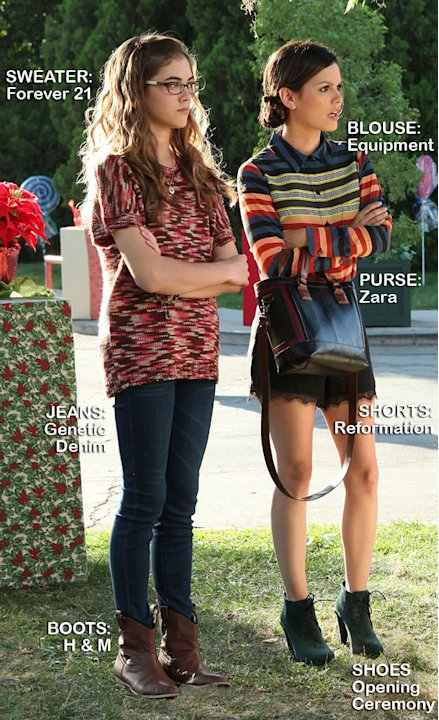 "McKaley Miller as Rose and Rachel Bilson as Dr. Zoe Hart in the Season 1 episode ""Hairdos and Holidays."" Hart of Dixie"