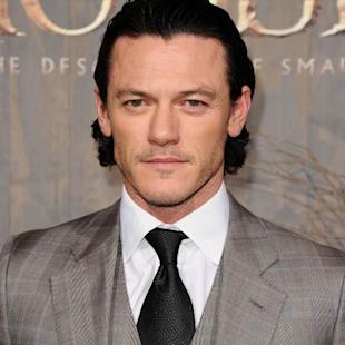 Luke Evans attends the premiere of 'The Hobbit: The Desolation Of Smaug' at TCL Chinese Theatre on December 2, 2013 -- Getty Images