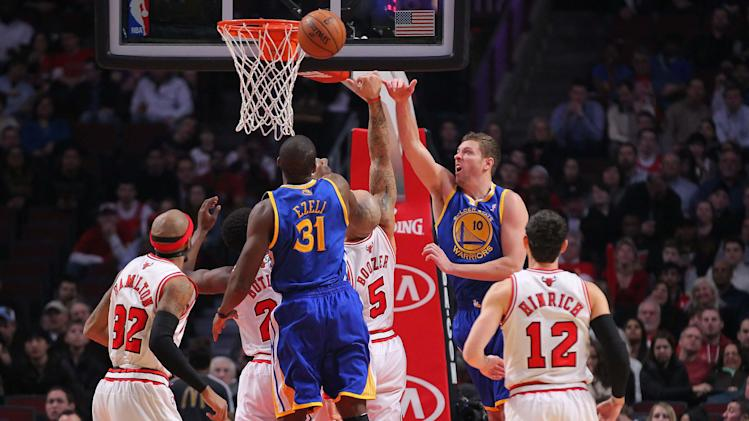 NBA: Golden State Warriors at Chicago Bulls