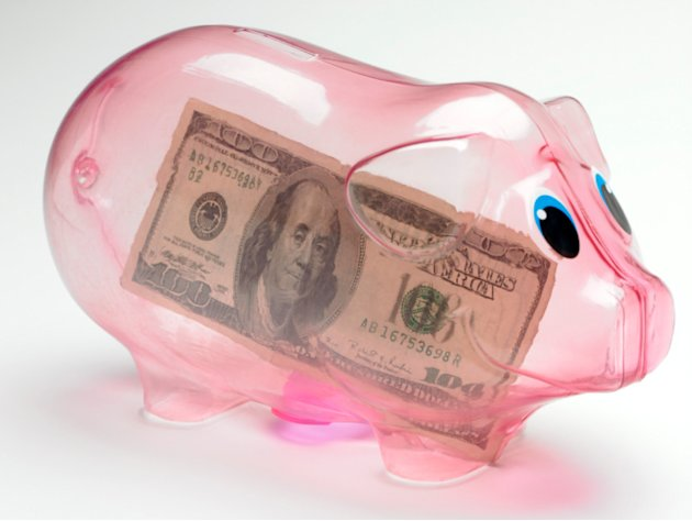 Utilize a piggy bank for the 21st century