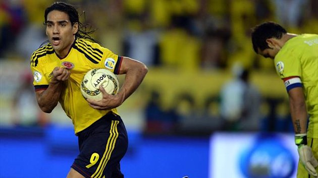 2014, Colombia, Radamel Falcao (AFP)
