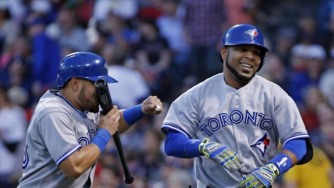 Encarnacion hits 2 HRs for Jays in 7-4 win vs Sox