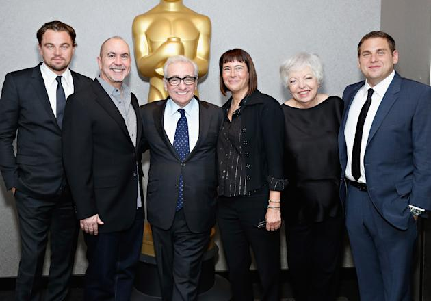 BESTPIX -The Academy Of Motion Picture Arts And Sciences Hosts An Official Academy Members Screening Of The Wolf Of Wall Street