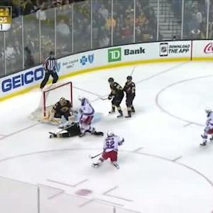 Tuukka Rask Save on Carl Hagelin (05:30/1st)