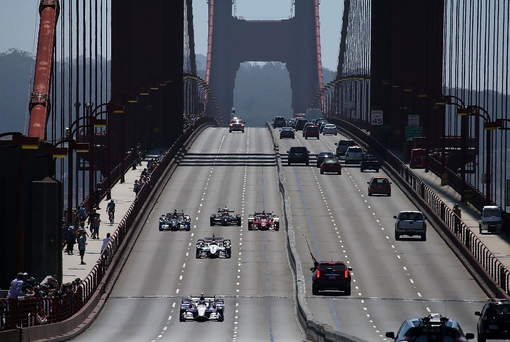 Golden Gate tribute to fallen IndyCar driver Wilson