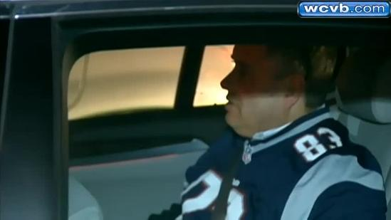 Fans stunned by Pats' AFC loss