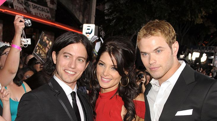 Twilight Saga New Moon LA Premiere 2009 Jackson Rathbone Ashley Greene Kellan Lutz