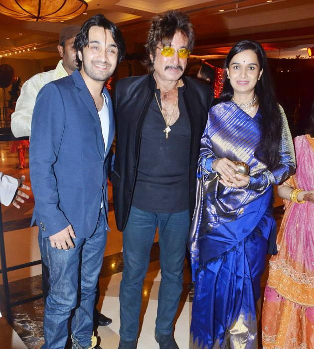 Celebs at Bappa Lahri's reception