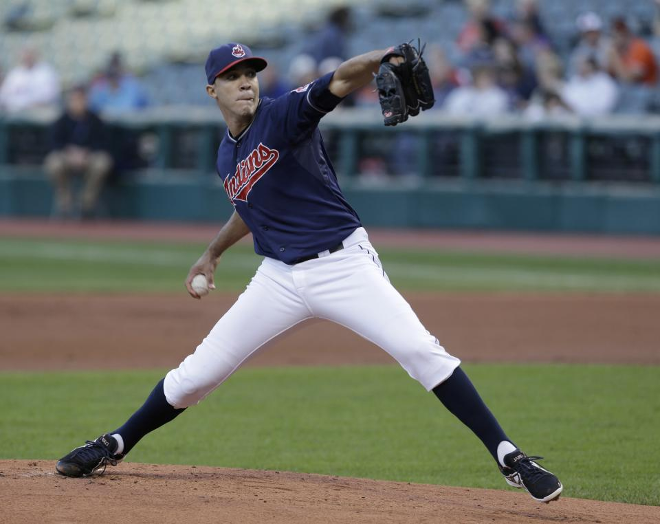 Jimenez pitches Indians past Orioles 4-3