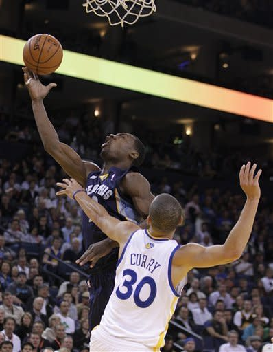 Grizzlies top Warriors 110-92 for 5th straight win