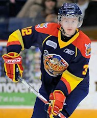 Erie Otters defenceman Kris Grant